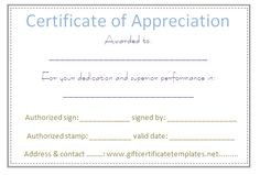 Dots border certificate of appreciation template