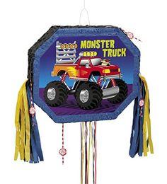 Monster Truck Pinata, Pull String
