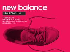 New Balance 551v2 on Behance