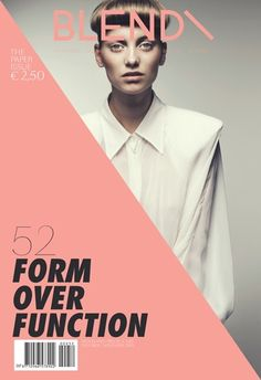 form over function - blend - Graphic design inspiration