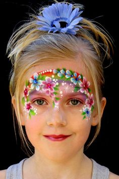 Simple face painting designs are not hard. Many people think that in order to have a great face painting creation, they have to use complex designs, rather then simple face painting designs. Face Painting Flowers, Girl Face Painting, Belly Painting, Tole Painting, Face Painting Tutorials, Face Painting Designs, Paint Designs, The Face, Face And Body
