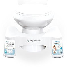 The Squatty Potty Toilet Stool is a wonderful health aid for the entire family. The Squatty Potty helps you to eliminate faster and more complete by putting your body into a natural squatting position over your own toilet. Oil For Constipation, Constipation Remedies, Allergies Vs Cold, Toilet Stool, Squatty Potty, Natural Bathroom, Flush Toilet, Thing 1, Bathroom Toilets