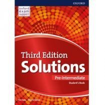 Solutions Pre-Intermediate Student's Book Edition Oxford, Teacher Books, Learning Resources, Learn English, Pdf, Audio, Flyers, Cambridge, Students