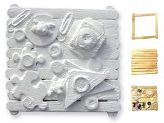 Louise nevelson for kids. Louise Nevelson found sculpture project was inspired by her creation of wood assemblages. It's easy to make with just craft sticks and found objects. Sculpture Lessons, Sculpture Projects, Sculpture Art, Metal Sculptures, Abstract Sculpture, Bronze Sculpture, Louise Nevelson, Louise Bourgeois, Kindergarten Art