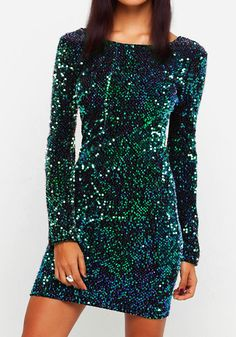 Sexy Dazzling Sequins Party  Dress