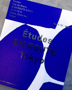 Come and join us tonight at the Études Pop Up Store
