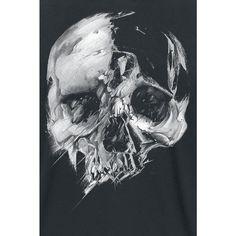 Fading Skull  T-Shirt  »Fading Skull« | Jetzt bei EMP kaufen | Mehr Rockwear  T-Shirts  online verfügbar ✓ Unschlagbar günstig!