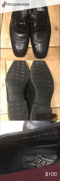 Salvatore Ferragamo Men Dressy Shoes This pair are in good conditions, No scratches, and besides the sole no other sing of wear Salvatore Ferragamo Shoes Loafers & Slip-Ons