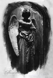 Картинки по запросу тату ангел эскизы