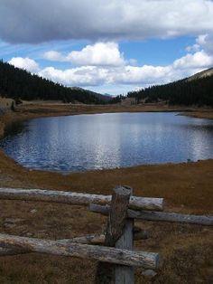 Trail Ridge Road: Proude Lake at Milner Pass