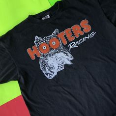 3055a9ebe9710 Double-sided Vintage Hooters Racing shirt from 1997! Tagged as an XL but it