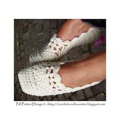 Lacey Wool Slippers by Sophie and Me-Ingunn Santini 5.00 Euro