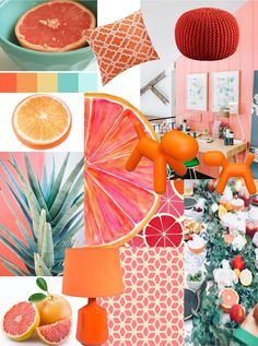 Spring trend book: 5 Deco and Colorful Ambiances. – Between Zen and Deco Source by sylviepenetstan Colour Schemes, Color Trends, Colour Palettes, Color Combinations, Spring Trends, Ceremony Decorations, Mood Boards, Bunt, Wedding Colors