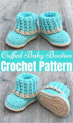Free Crochet Baby Booties Patterns,Cuffed Baby Booties Crochet Pattern - All Crochet Pattern - Free Crochet Baby Booties Patterns,Cuffed Baby Booties Crochet Pattern Free Crochet Baby Booties Patterns,Cuffed Baby Booties Crochet Pattern - Crochet Baby Boots, Knit Baby Booties, Crochet Toddler, Booties Crochet, Baby Girl Crochet, Crochet For Boys, Newborn Crochet, Free Crochet, Free Easy Crochet Patterns