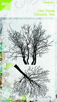 Joy clear stamp Silhouettes Trees (Tanja)