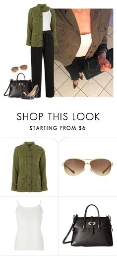 """""""Untitled #3450"""" by elia72 ❤ liked on Polyvore featuring Topshop, Ray-Ban, Dorothy Perkins, Kenneth Cole, Dooney & Bourke and GUESS"""
