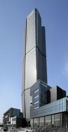C International Tower, Xiamen, China by Gravity Partnership :: height 217m