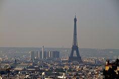 View over Paris from Montmartre by Eerko, via Flickr