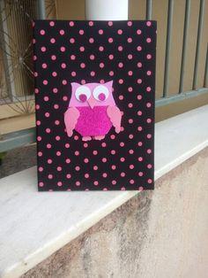 Caderno personalizado de coruja