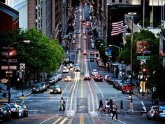 San Francisco, California - City street