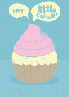 Hey Little Cup Cake