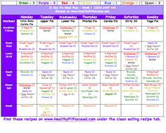 21 Day Fix Week 2 Update and Progress - Plus Meal Plan #21DayFix Meal Plan, 21 Day Fix recipes