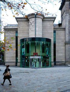 Laing Art Gallery, Extension, Newcastle Upon Tyne  Architects; Los, Tindell, Smith & Lenehen.  Hard Landscape; 'Blue Carpet' by Thomas Heatherwick