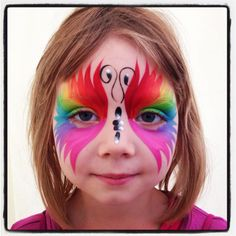 find this pin and more on kinderen photo 20 of 20 in face painting - Halloween Easy Face Painting