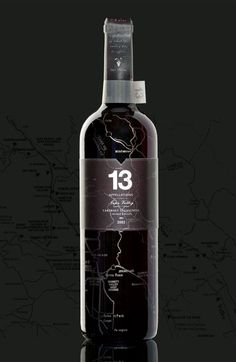 Brilliant way to push the low end wine no one thinks is good enough to bottle by itself... Market it as the entire Napa Valley in one bottle... and I really like the metallic printing of the map all over the bottle. Very nice Student work by http://www.iamweisun.com/#1726511/Bottling-the-Essence-of-Napa