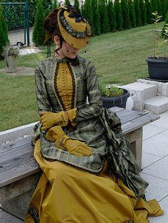 1880s Fashion, Edwardian Fashion, Vintage Fashion, Moda Steampunk, Steampunk Fashion, Steampunk Dress, Victorian Steampunk, Gothic, Vintage Outfits
