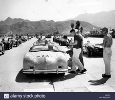 JAMES DEAN in a 1950s California car race event Stock Photo, Royalty Free Image: 6843634 - Alamy