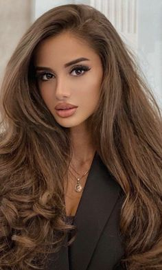Try On Hairstyles, Straight Hairstyles, Most Beautiful Faces, Beautiful Eyes, Brunette Beauty, Hair Beauty, Blonde Actresses, Glamorous Makeup, Beautiful Blonde Girl