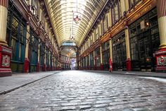 If you're planning on visiting the City of London, explore the popular LeadenHall Market where you will see a variety of fresh products!