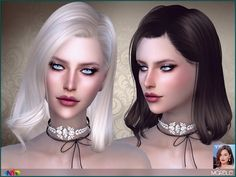 Sims 4 CC's - The Best: Anto - Marble (Hair)