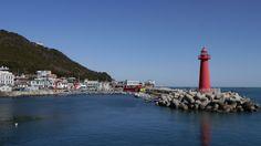 Haeundae Beach, Cheongsapo Busan South Korea, San Francisco Skyline, Beach, Water, Travel, Outdoor, Gazebo, Water Water, Outdoors