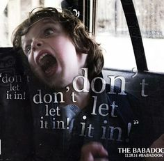 Samuel played by Noah Wiseman, such a freaky good acting job- Mister Babadook