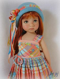 Dress Ups by PJ ... Peachy Keen for Effner Little Darling | Flickr - Photo Sharing!