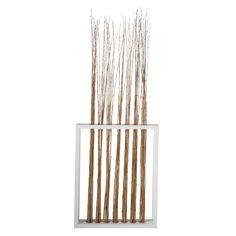 Paravento in legno e bambù L 88 cm  da mettere davanti a attaccapanni