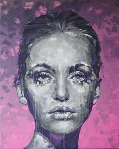 Acrylic on canvas, 100x80