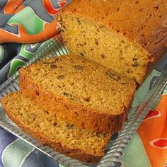 """Autumn Spiced Butternut Squash Bread I """"My husband and his boss & co-workers say this is the BEST bread ever. I added some nutmeg & cinnamon w/ the ground cloves. WOW!!"""""""