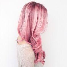 #hair #pink
