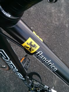 This limited edition Flandrien edition Icarus is the perfect bike for those who love Belgium! www.cycle-art.co.uk