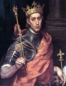 Louis IV the Saint King of France (1226-1270) son of Louis VIII