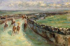 Max Liebermann - Horse Racing
