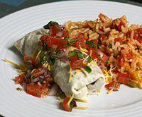"How to Make Your Own Pico de Gallo: <a href=""http://southernfood.about.com/od/groundbeefrecipes/r/bl31221e.htm"">Beef and Bean Burrito</a> With Pico De Gallo"