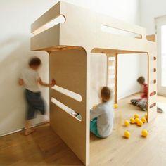 The F Bunk Bed from @rafakids. Space underneath makes this a great choice for smaller spaces | DKK 11999. Shop link in bio.  #studiominishop #rafakids #fbunkbed #bunkbed #kidsroom #kidsdecor #kidsinterior #børneværelse #køjeseng #børneseng #børneinteriør