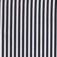 Jacqueline's own design-black and white stripe by Anthology