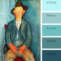 """Muchacho campesino"", Amedeo Modigliani"