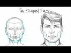 How to Draw the Male Face. Read full article: http://webneel.com/video/how-draw-male-face | more http://webneel.com/video/drawings | more videos http://webneel.com/video/animation | Follow us www.pinterest.com/webneel