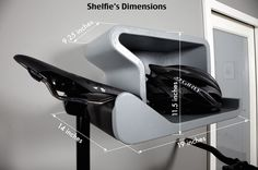 Juergen Beneke is raising funds for SHELFIE - home is where you hang your bike. on Kickstarter! Shelfie is a contemporary design that will look perfect inside your home, with or without a bike. Bicycle Hanger, Bicycle Shop, Bike Shelf, Bike Room, Bicycle Storage, Bike Mount, Mountain Bike Shoes, Bike Parking, Shelfie